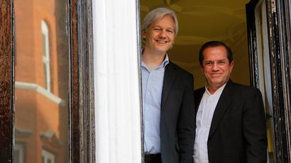 365 days on ice: Assange still holed up in Ecuador's London Embassy