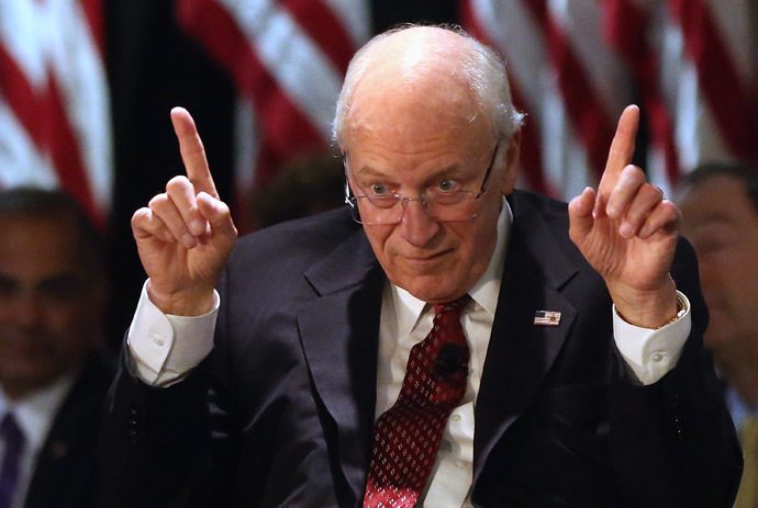Former Vice President Dick Cheney. (AFP Photo / Bruce Bennett)