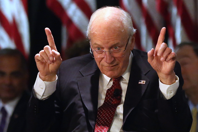 Former Vice President Dick Cheney (AFP Photo / Bruce Bennett)