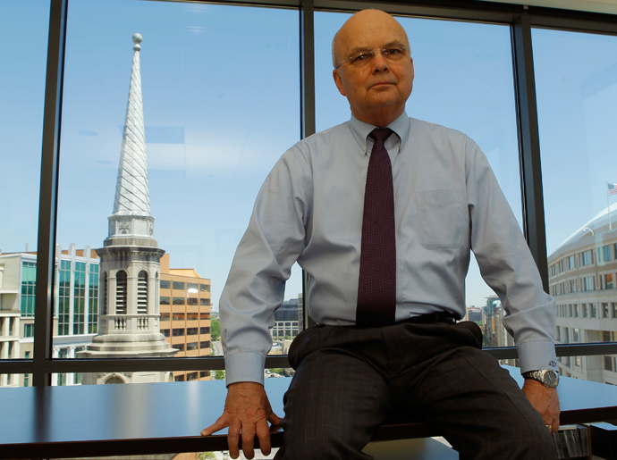 Retired U.S. Air Force General Michael Hayden (Reuters / Gary Cameron)