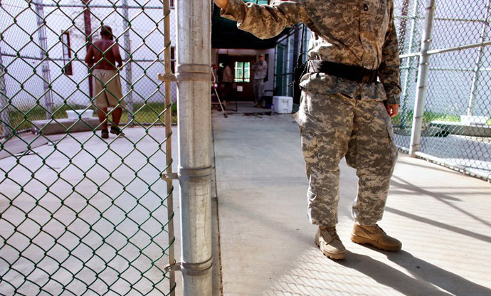 The US prison camp at Guantanamo Bay, Cuba. (AFP Photo / Brennan Linsley)