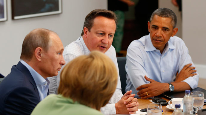 G8 leaders sign tax evasion declaration