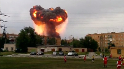 11 dead after explosions at munitions depot in East Siberia