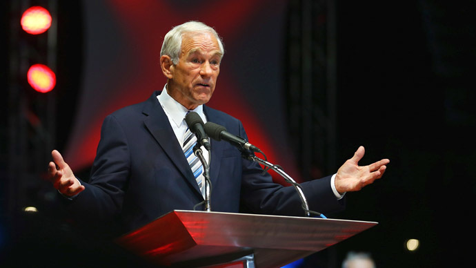 Ron Paul: 'Obama's Syria policy looks a lot like Bush's Iraq policy'