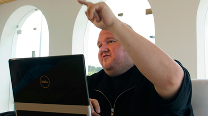 'United Stasi of America': Kim Dotcom 'defaces' US embassy in Berlin