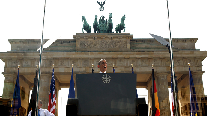 Obama defends US snooping in uneasy Germany