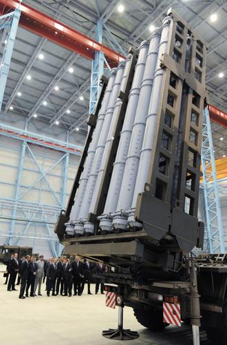 Vityaz SAM launcher (RIA Novosti / Michael Klimentyev)