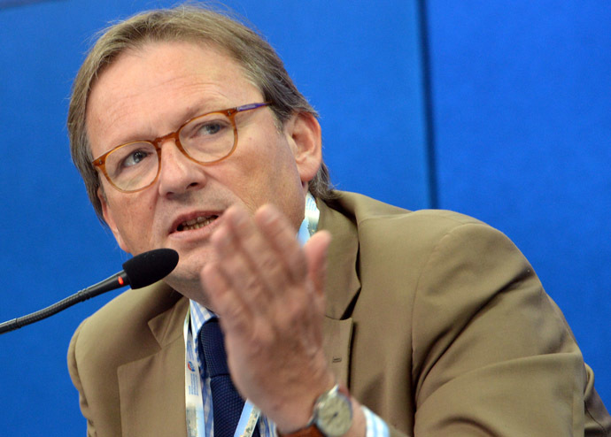 Presidential Commissioner for Entrepreneurs' Rights Protection Boris Titov. (RIA Novosti)