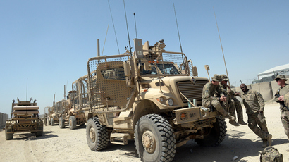 Military hand-me-downs: US police getting leftover armored trucks from Iraq
