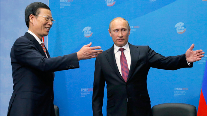 Russia and China oil cooperation estimated at the unprecedented $270bn – Putin