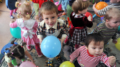 Russian region completely bans foreign adoptions