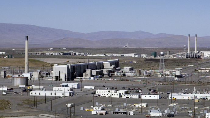 Possible new leak at Hanford State, higher radioactivity levels detected