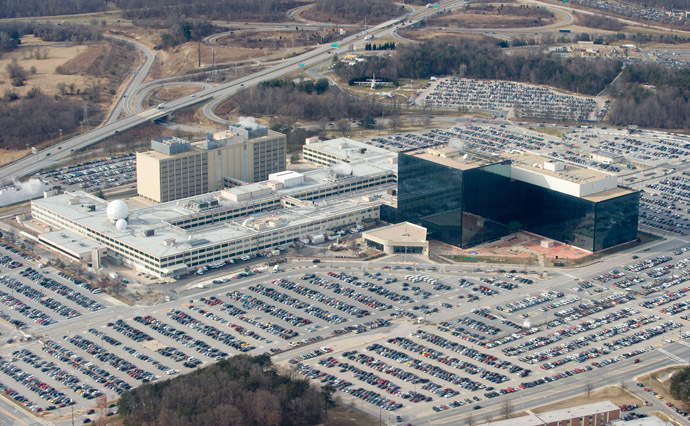The National Security Agency (NSA) headquarters at Fort Meade, Maryland (AFP Photo)