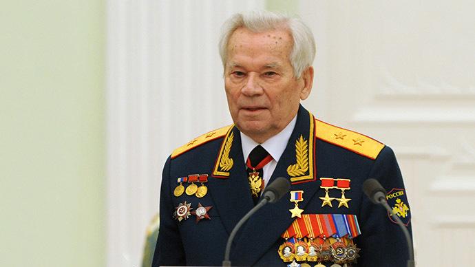 Mikhail Kalashnikov (AFP Photo / Natalia Kolesnikova)