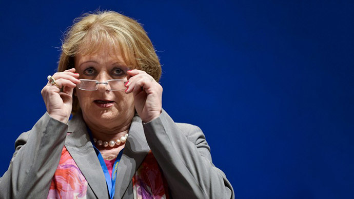 German Justice Minister Sabine Leutheusser-Schnarrenberger (AFP Photo / Guenter Schiffmann)