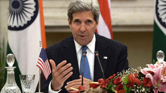 Kerry calls Snowden 'traitor', warns Russia and China of impact on relations
