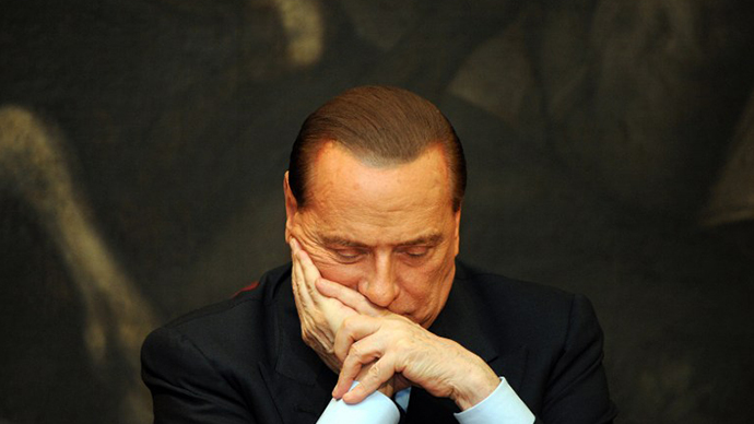 Berlusconi sentenced to 7 years in prostitution case