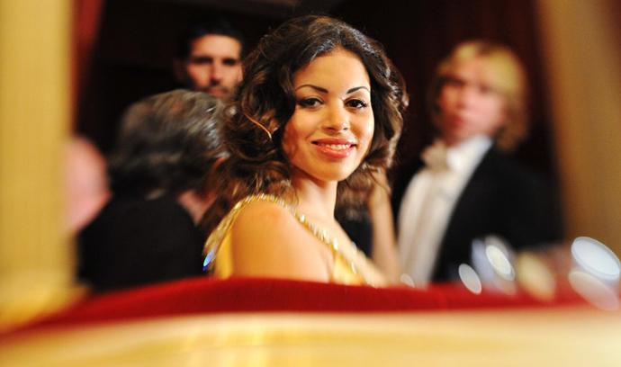 Karima el-Mahroug nicknamed Ruby (AFP Photo / Joe Klamar)
