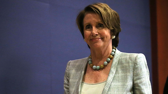 U.S. House Minority Leader Rep. Nancy Pelosi (D-CA) (AFP Photo / Alex Wong)