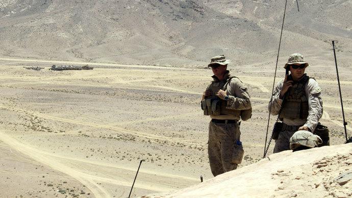 Soldados norte-americanos. (AFP Photo / Khalil MAZRAAWI)