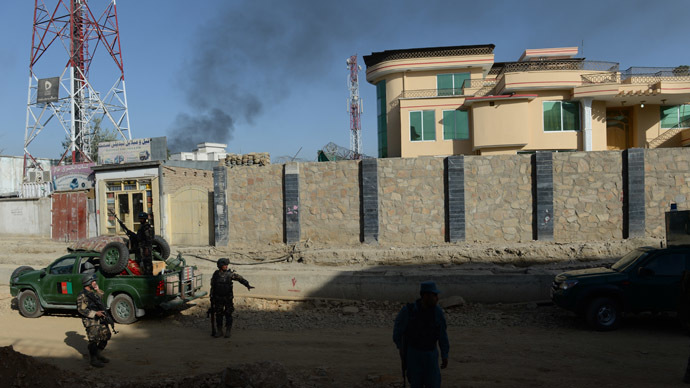 Taliban attacks Kabul's presidential palace, CIA, ISAF HQ, Ministry of Defense