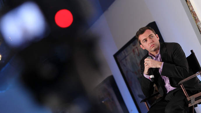 Michael Hastings (DC. Paul Morigi/Getty Images for The Guardian/AFP)