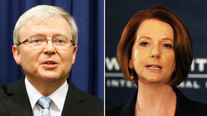'Boomerang' Rudd: Gillard replaced as Australian PM by man she deposed