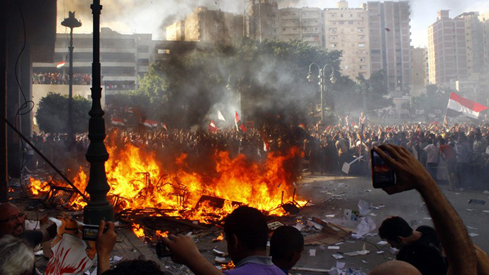 US student among dead as riot-ridden Egypt descents into 'security crisis'