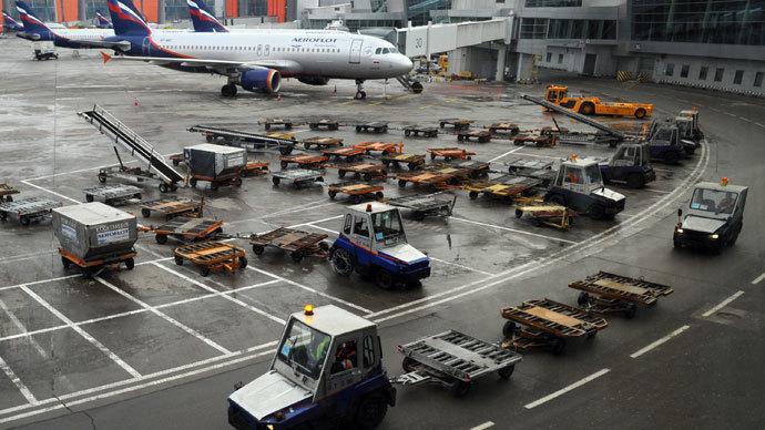 Terminal D of Sheremetyevo International Airport.(RIA Novosti / Aleksandr Kozhohin)