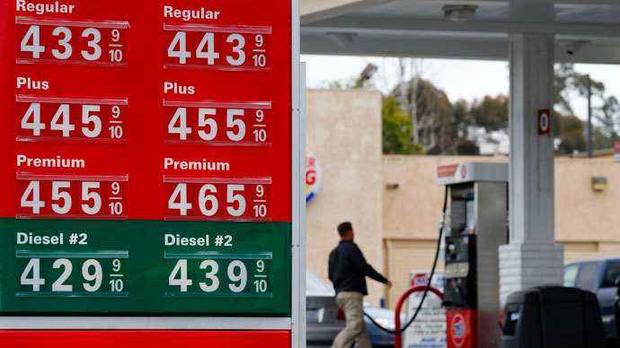 Under the pump: Americans pay 3x more for gasoline than Russians