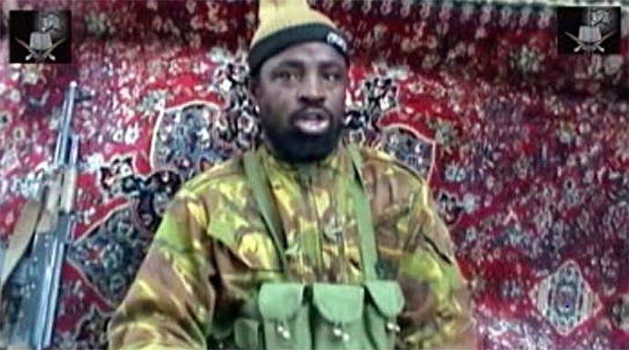 The suspected leader of the Nigerian Islamist group linked to Al-Qaeda, Boko Haram, Imam Abu Muhammad Ibn Muhammad Abubakar Ash Shekawi, also known as Abubakar Shekau (AFP Photo)