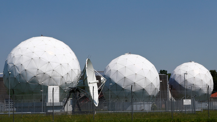 A general view of the large former monitoring base of the U.S. intelligence organization National Security Agency (NSA) in Bad Aibling south of Munich (Reuters / Michaela Rehle)