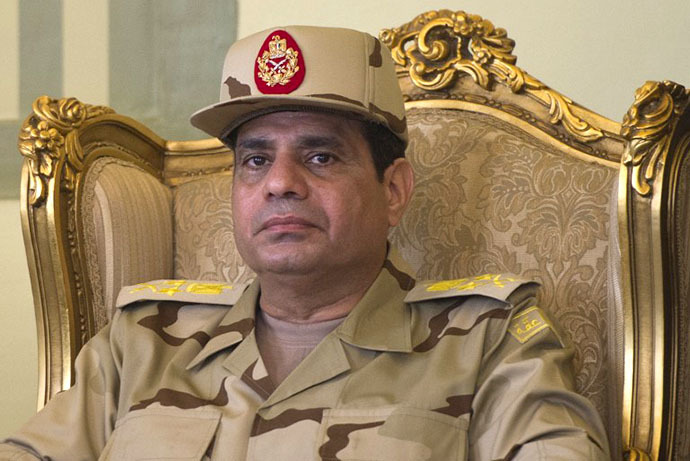 Defense Minister Abdel Fattah al-Sisi (AFP Photo / Khaled Desouki)