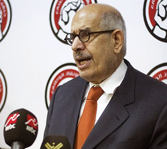 Mohamed El Baradei (AFP Photo / Gianluigi Guercia)