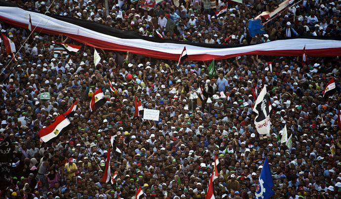 'Biggest protest in Egypt's history': LIVE UPDATES Ca-1
