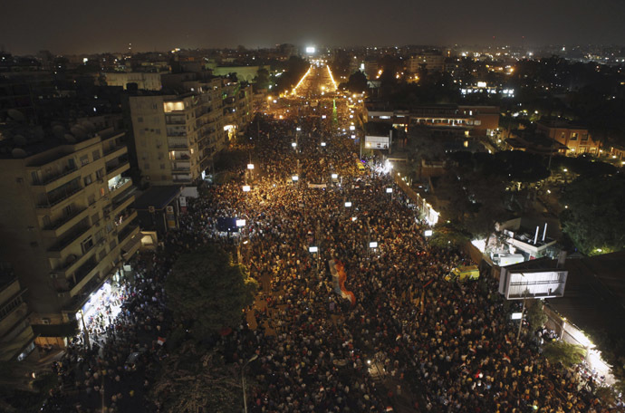 'Biggest protest in Egypt's history': LIVE UPDATES Ca-10
