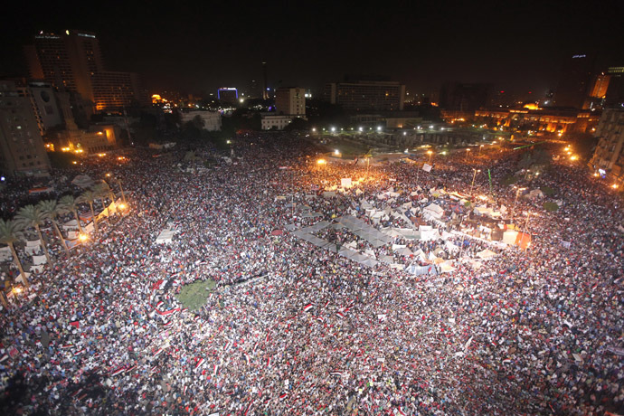 'Biggest protest in Egypt's history': LIVE UPDATES Ca-15