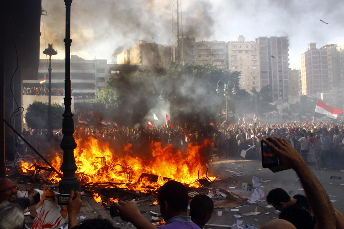 'Biggest protest in Egypt's history': LIVE UPDATES Ca-2