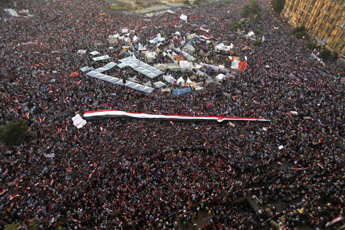 'Biggest protest in Egypt's history': LIVE UPDATES Ca-7