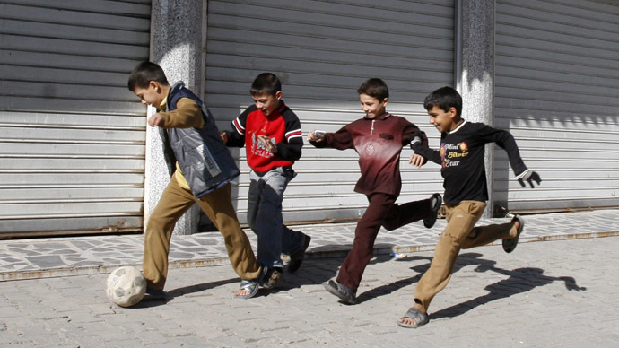 Bomb at football pitch kills teenagers in Iraq