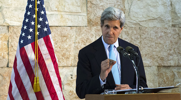 US Secretary of State John Kerry (AFP Photo / Jacquelyn Martin)