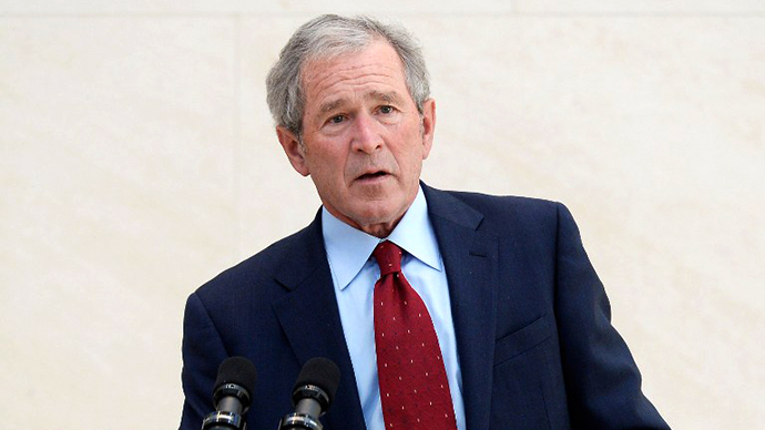 Bush: Snowden 'damaged the security of the country'