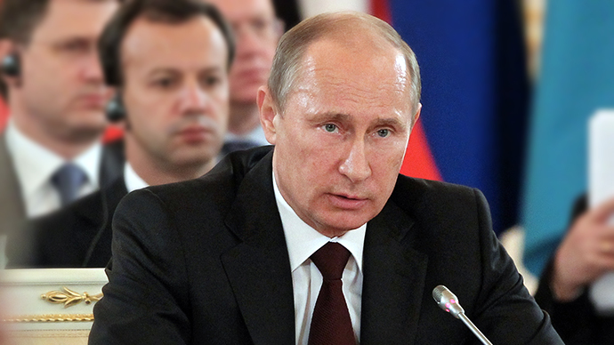 Putin: Snowden can stay in Russia if he stops damaging USA