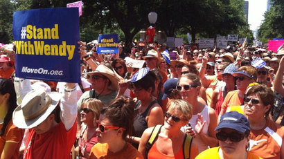 Texas moves to adopt anti-abortion law despite thousands protesting on the streets