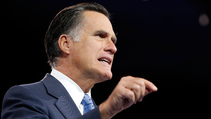 Suspect charged over $1 mln Romney blackmail stunt
