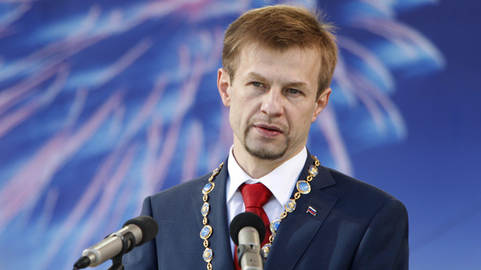 Mayor-in-opposition to United Russia ruling party detained