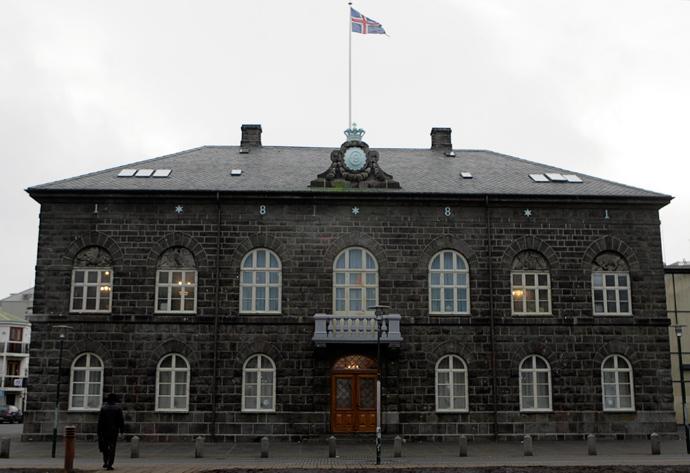 Iceland's Parliament house in Reykjavik (Reuters / Ints Kalnins)