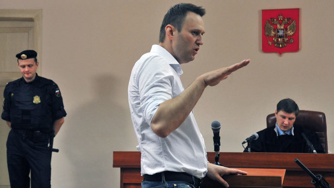 Prosecutor demands 6 years in jail for opposition blogger Navalny