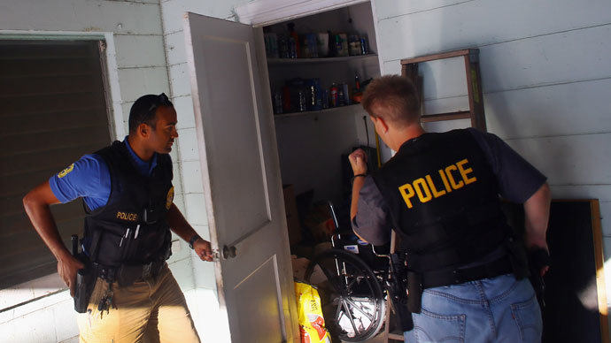 Nevada cops sued over forced occupation of private homes