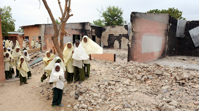 Nigeria's Boko Haram militants say abducted schoolgirls will be 'sold in the market'